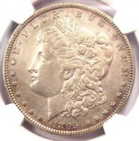 1895-O MORGAN SILVER DOLLAR $1 - NGC AU DETAILS -  DATE CERTIFIED COIN