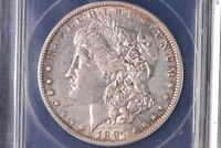 1897 O MORGAN DOLLAR ANACS AU-50