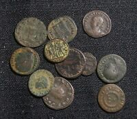 LOT OF 11 ANCIENT ROMAN COINS