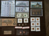 ODDS & ENDS COIN COLLECTION TRAINING NOTES SILVER CURRENCY I