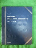 CANADIAN SMALL CENT COLLECTION BOOK WHITMAN NO. 9062 1920 WI