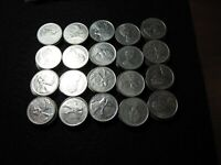 CANADIAN CANADA COINS FACE VALUE   $ 61 CURRENCY MONEY QUART