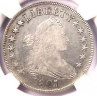 1807 DRAPED BUST HALF DOLLAR 50C - NGC VF DETAILS -  CERTIFIED COIN