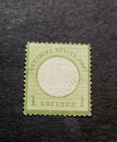 GERMANY  STAMP SCOTT  7  IMPERIAL EAGLE 1872  MH L98