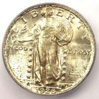 1926-D STANDING LIBERTY QUARTER 25C COIN - ICG MINT STATE 66 PLUS GRADE - $1,150 VALUE