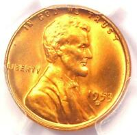 1953-D LINCOLN WHEAT CENT PENNY 1C - PCGS MINT STATE 67 RD -  IN MINT STATE 67 - $750 VALUE