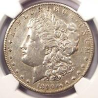 1890-CC MORGAN SILVER DOLLAR $1 - CERTIFIED NGC AU DETAILS -  COIN