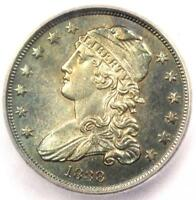 1838 CAPPED BUST QUARTER 25C COIN   CERTIFIED ICG MS62  BU UNC    $2 940 VALUE