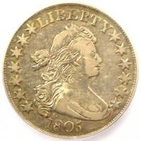 1805 DRAPED BUST HALF DOLLAR 50C - CERTIFIED ICG EXTRA FINE 40 EF40 - $1,920 VALUE