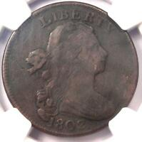 1802 DRAPED BUST LARGE CENT 1C S-240 - NGC FINE DETAILS -  EARLY PENNY