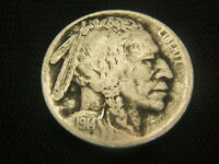 1914-S 3/4 HORN BUFFALO NICKEL OBVERSE DIRT EACH ADDITIONAL COIN SHIPS FREE