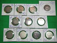 LOT OF 11 SHIELD NICKELS 1867 1869 1870 1882 DUPS NODATE CULLS START SET FILLERS