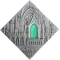NIUE 2014 1$ ART THAT CHANGED THE WORLD   GOTHIC ART SILVER