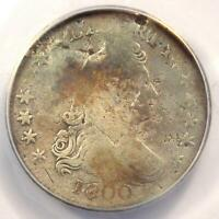 1800 DRAPED BUST DIME 10C - CERTIFIED ANACS VG8 DETAILS -  COIN