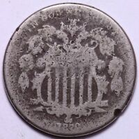 1870 SHIELD NICKEL       K3RC