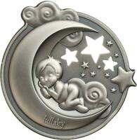 COOK ISLANDS 2018 $5 LULLABY  DREAMING 1 OZ SILVER ANTIQUE C
