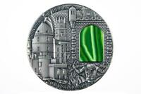 NIUE 2014 $2 CRYSTAL ART   SECRETS OF PENA 2 OZ SILVER COIN