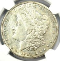 1889-CC MORGAN SILVER DOLLAR $1 COIN - CERTIFIED NGC AU50 - $7,190 VALUE