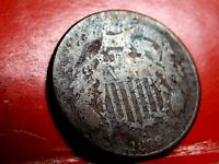 1869 TWO-CENT 2 CENT PIECE