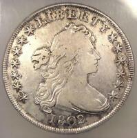 1802/1 DRAPED BUST SILVER DOLLAR $1 BB-233 - CERTIFIED ICG VF20 -  COIN