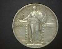 1924 STANDING LIBERTY QUARTER EXTRA FINE-TO-ABOUT UNCIRCULATED      329623