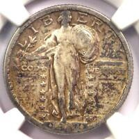 1918/7-S STANDING LIBERTY QUARTER 25C OVERDATE COIN - NGC F15 - $3,950 VALUE