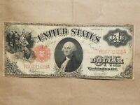 1917 UNITED STATES NOTE $1 LARGE SIZE BILL SPEELMAN WHITE FR 39 US NICE