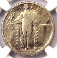 1918/7-S STANDING LIBERTY QUARTER 25C COIN - NGC VF DETAILS -  OVERDATE