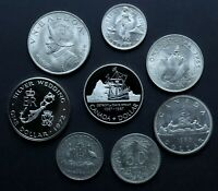 MIXED BETTER FOREIGN SILVER COIN LOT: COLLECTION OF SILVER W