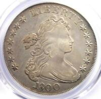 1800 DRAPED BUST SILVER DOLLAR $1 COIN - CERTIFIED PCGS EXTRA FINE  DETAILS -  DATE
