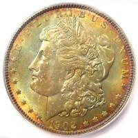 1902 MORGAN SILVER DOLLAR $1 1902-P - ICG MINT STATE 66 -  IN MINT STATE 66 - $813 VALUE