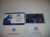 2002 S 25C STATE QUARTERS   CLAD DC  PROOF