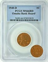 1940 D LINCOLN WHEAT CENT - PCGS CERTIFIED RD-66