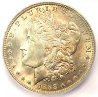 1888-O MORGAN SILVER DOLLAR $1 - CERTIFIED ICG MINT STATE 65 -  IN MINT STATE 65 - $468 VALUE