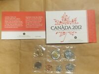 2012 CANADA UNCIRCULATED SET CANADIAN PROOF LIKE SET CENT THROUGH $2 TOONIE