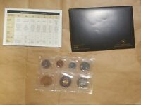 2006 CANADA UNCIRCULATED SET CANADIAN PROOF LIKE SET CENT THROUGH $2 TOONIE
