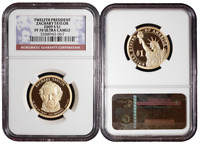 2009 S PROOF $1 12TH ZACHARY TAYLOR PRESIDENTIAL NGC PF70UC