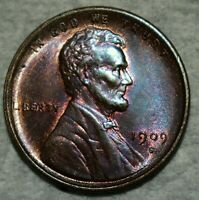 BRILLIANT UNCIRCULATED 1909 S VDB LINCOLN CENT  GORGEOUSLY T