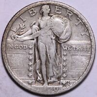 VF 1920 STANDING LIBERTY QUARTER       R4ACM