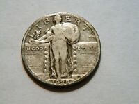 1928-P F TONED SILVER STANDING LIBERTY QUARTER,  LOW PRICED COIN