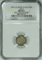 1835 NGC MINT STATE 65 BUST HALF DIME, SUPER ORIGINAL GEM, CLEAN AS ANY MINT STATE 66 OUT THERE