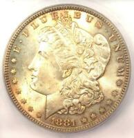 1881-P 1881 MORGAN SILVER DOLLAR $1 - ICG MINT STATE 65 -  IN MINT STATE 65 - $585 VALUE