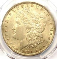1894 MORGAN SILVER DOLLAR $1 COIN 1894-P - PCGS AU55 - LOOKS NEARLY MS / UNC