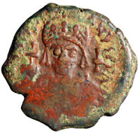HEROIC PORTRAIT BYZANTINE COIN OF JUSTINIAN I