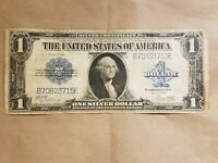 1923 $1 SILVER CERTIFICATE WOODS WHITE LARGE SIZE NOTE FR 238 NICE