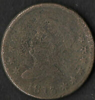 1813 CLASSIC HEAD LARGE CENT MINTAGE: 418,000 CLEAR DATE