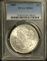 1885  1 PCGS MINT STATE 62   36158610