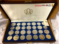 CANADA 1976 MONTREAL OLYMPICS RCM STERLING SILVER 28 COIN SE