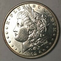 1902 MORGAN SILVER DOLLAR SELECT BU