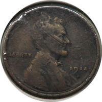 1914-D LINCOLN WHEAT CENT PENNY